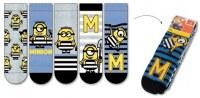 Chaussettes Minions pour Garçons 5-pack 1.69 € Uniquement