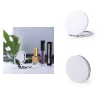 Miroir Plumiax en Similicuir - Objet publicitaire AVEC ou SANS logo - Cadeau client -...