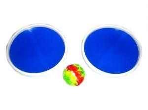 Jeu lance balle à ventouses Beachgarden Ø 16cm coloris assortis à partir de 0,73€ HT