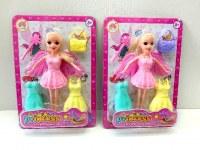 Coffret poupée fée et accessoires coloris assortis à partir de 1,31€ HT