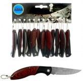 Porte-clés couteau chasse 15cm brun à partir de 0,64€ HT