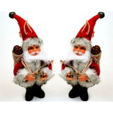 Figurine Père Noël à suspendre Anton 19cm à partir de 1,67€ HT