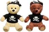 Peluche ourson Teddy Bear pirate 26cm coloris assortis à partir de 3,26€ HT