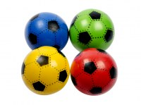 "Balle gonflable ""Football"" Ø 23cm coloris assortis"