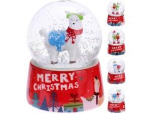 Boule de neige de Noël lama Ø 4,5cm modèles assortis à partir de 1,79€ HT