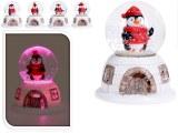 Boule de neige de Noël LED Ø 6,5cm modèles assortis à partir de 2,81€ HT