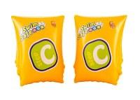 Brassières gonflables PVC Swim Safe 25cm jaune à partir de 1,95€ HT