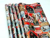Rouleau papier cadeau Star Wars 2m modèles assortis à partir de 0,77€ HT