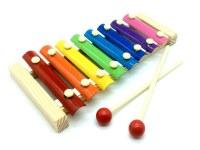 Xylophone bois massif 8 touches 24cm à partir de 2€75 HT