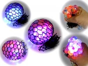 Balle anti-stress Squash Ball lumineuse Ø 6cm mulicolore à partir de 0,94€ HT