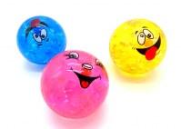 Balle lumineuse Emoticône Ø 10cm coloris assortis à partir de 1,83€ HT