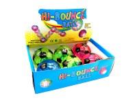 Balle lumineuse rebondissante Football Ø 10cm coloris assortis à partir de 1,86€ HT