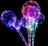 Ballon guirlande LED multicolore 1m20 coloris assortis à partir de 1,67€ HT