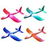 Avion planeur LED 48cm EPP coloris assortis à partir de 2,49€ HT