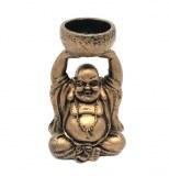 Support bougie votive Buddha céramique 12cm gris à partir de 3,69€ HT