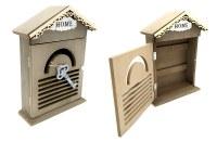 Boîte à clés murale bois Home 27cm à partir de 7,97€