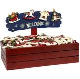 Magnet bois Christmas 8cm modèles assortis à partir de 1,33€ HT