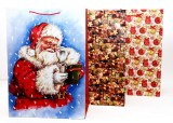 Sac cadeau Noël jumbo 56 x 40cm modèles assortis à partir de 1,71€ HT