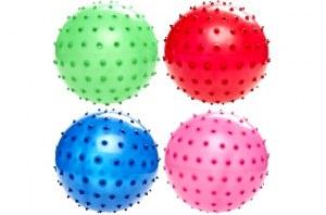 Balle de massage à picots coloris assortis Ø 15cm