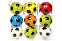 Set de 3 balles de football soft Ø 6cm coloris assortis à partir de 1,58€ HT
