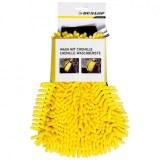 Gant de lavage fibre chenille Dunlop 28,5cm jaune à partir de 2,87€ HT