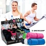 Serviette sport microfibre Dunlop 80cm coloris assortis à partir de 2,39€ HT