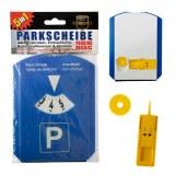 Disque de stationnement PVC 5 en 1 bleu 15,5cm à partir de 0,89€ HT