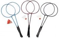 Set de badminton 60cm avec volant coloris assortis