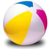Balle gonflable PVC Ø 51cm multicolore à partir de 1€06 HT