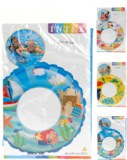 """Bouée gonflable """"Intex"""" Ø 61cm modèles assortis à partir de 1€06 HT"""