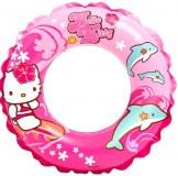 """Bouée gonflable """"Intex"""" Ø 51cm Hello Kitty rose à partir de 1€79 HT"""