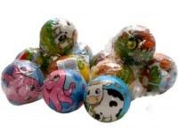 Balle rebondissante soft Ø 7,5cm modèles animaux assortis à partir de 0€72 HT