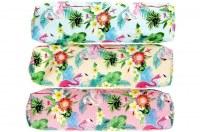 Trousse toile vinyl flamant rose 23cm coloris assortis à partir de 0,42€ HT