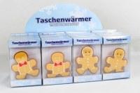 Chaufferette Lebkuchenmänner modèles assortis à partir de 0,95€ HT