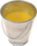 Bougie à la citronnelle pot métal Ø 6cm à partir de 1€