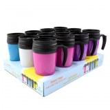 Mug thermos de voyage 19cm série II coloris assortis