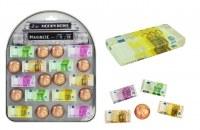 Magnet PVC Euros Design 5 modèles assortis à partir de 0,31€ HT