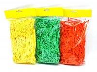 Sachet de paille pour nid de Pâques 40g coloris assortis à partir de 0,77€ HT