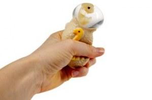 Balle anti-stress Squeeze Egg dinausore Ø 5,5cm coloris assortis à partir de 0,71€ HT