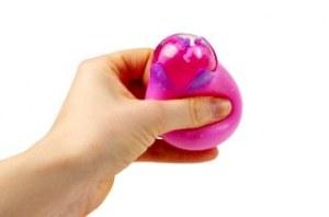 Balle anti-stress Squeeze Egg licorne Ø 5,5cm rose à partir de 0,78€ HT