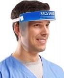 Écran facial Face Shield taille unique 28 x 20cm à partir de 3,59€ HT