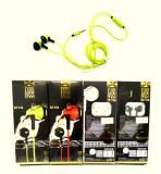 Ecouteurs stéréo avec micro Super Bass coloris assortis à partir de 2,10€ HT