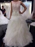 Fabricant magnifique robes de marieé en tulle et perles