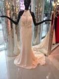 Fabricant magnifique robes de marieé en satin et dentelle