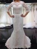 Grossiste robes de marieé en dentelle