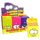 """Cache paquet de  ABS """"Cartoon Eyes"""" coloris assortis"""
