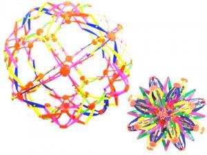 Balle magique extensible Ø 28cm multicolore