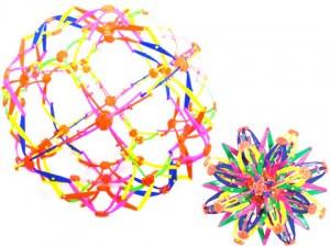 Balle magique extensible Ø 33cm multicolore