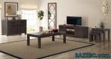 Mobilier de salon 6 pièces Bois d'acacia massif