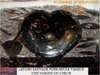LAVABO en marbre fossilisé